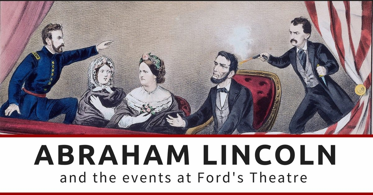 the event of the assassination of president abraham lincoln In this video, dr matthew pinsker talks about the events leading up to the assassination of president abraham lincoln and that fateful moment.