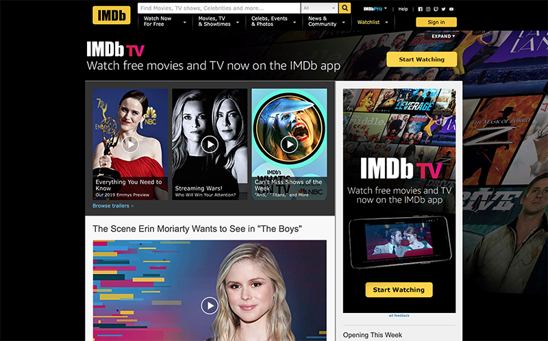 12 Best Free Online Resources for Movies & TV Shows - SeatUp, LLC
