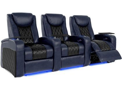 Home Theater Seating In Curved Rows Configurations