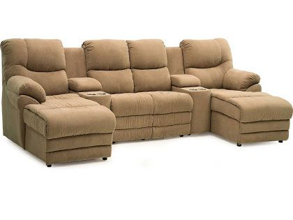 Home Theater Sectional Sofas - SeatUp.com