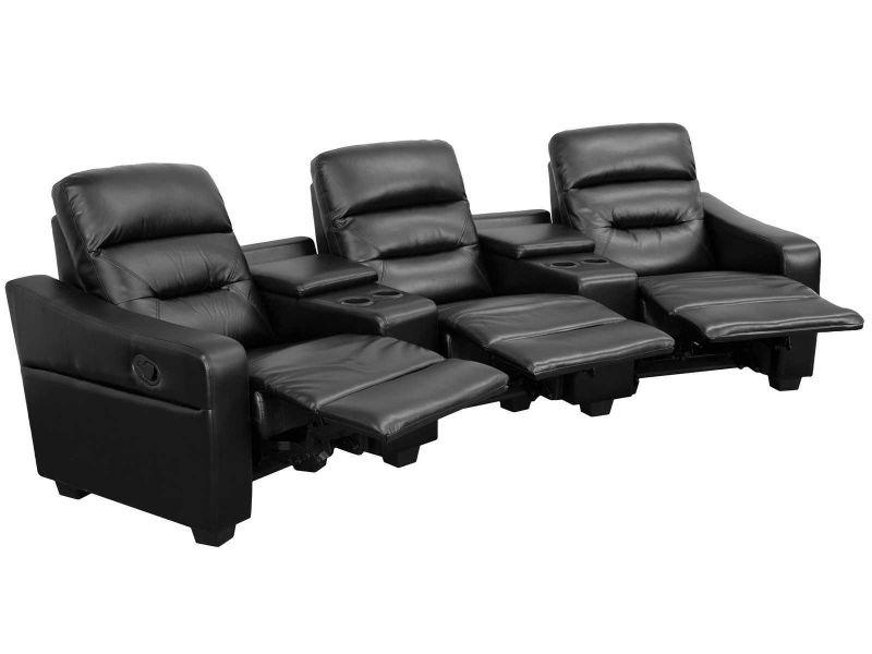Peachy Encore Black 3 Seater Machost Co Dining Chair Design Ideas Machostcouk