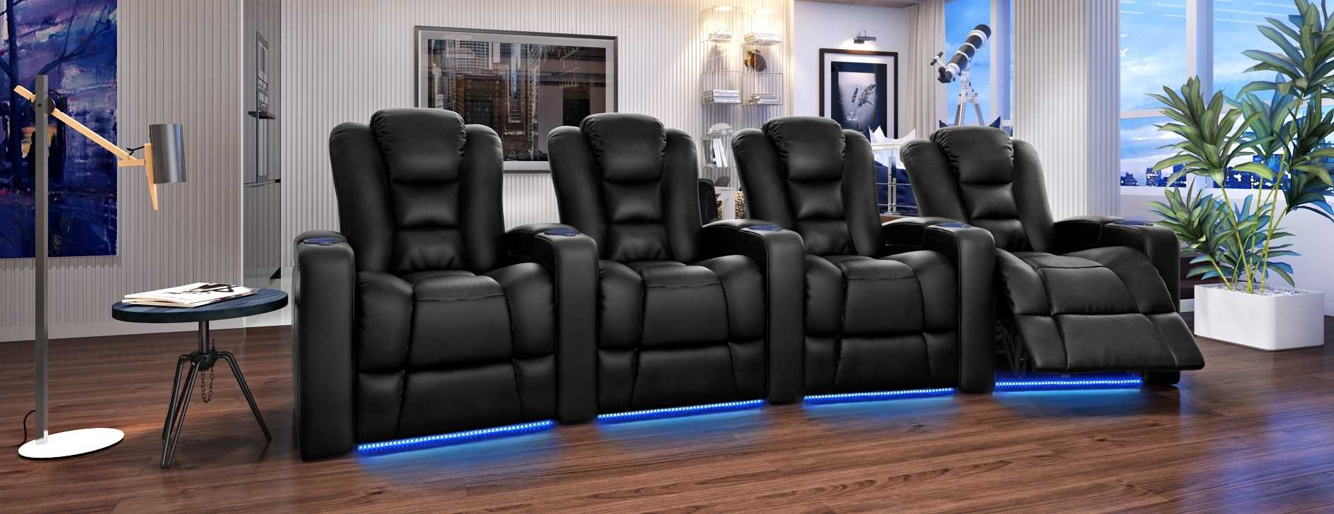 Theater recliner chairs