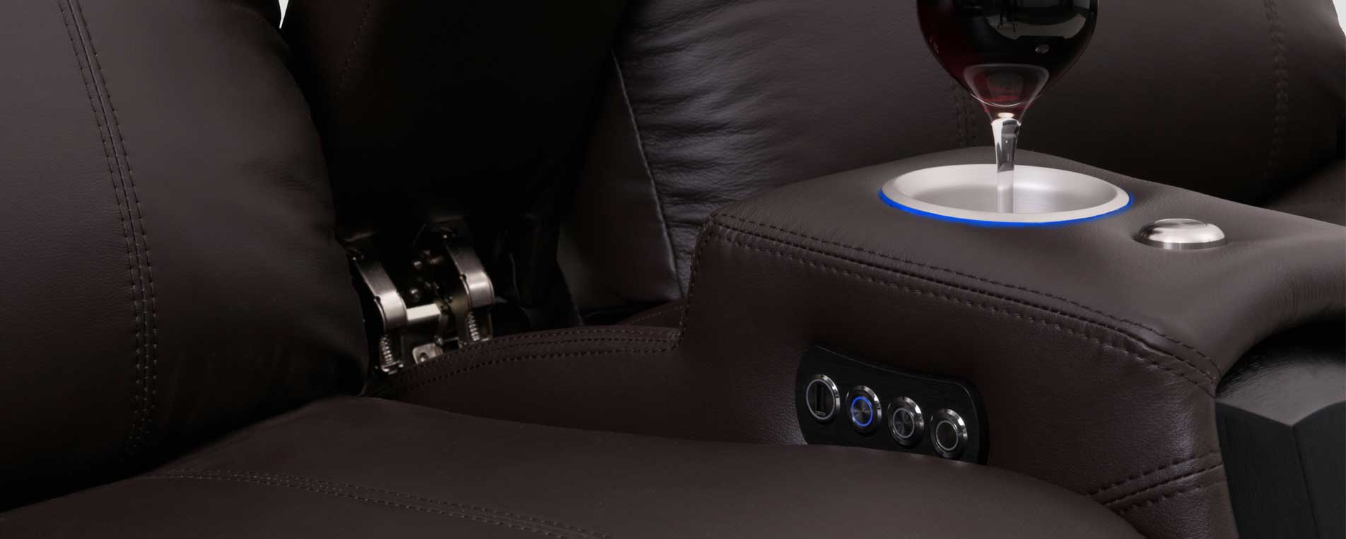 Anatomy Of A Home Theater Seat