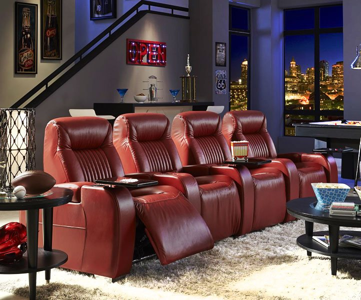 Home Theater Seating Media Room